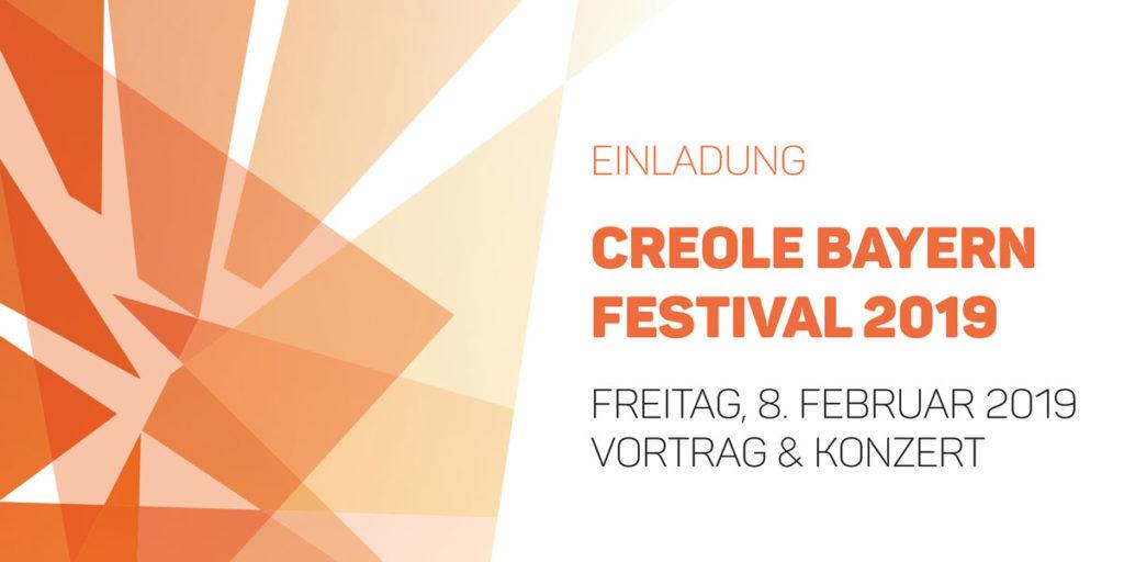 Einladung Creole Festival Nürnberg